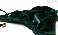 Black/Velvet Hunter green