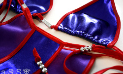 Royal-Bikini (Red/Jewel Iolite)