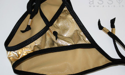 Social-Bikini (Black/Jewel Gold)