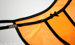 Royal-Lingerie (Black/Veil Tangerine)