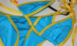 Social-Bikini (Yellow/Shine Pacific)