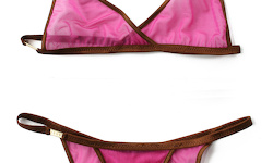 Social-Lingerie (Brown/Veil Wine)